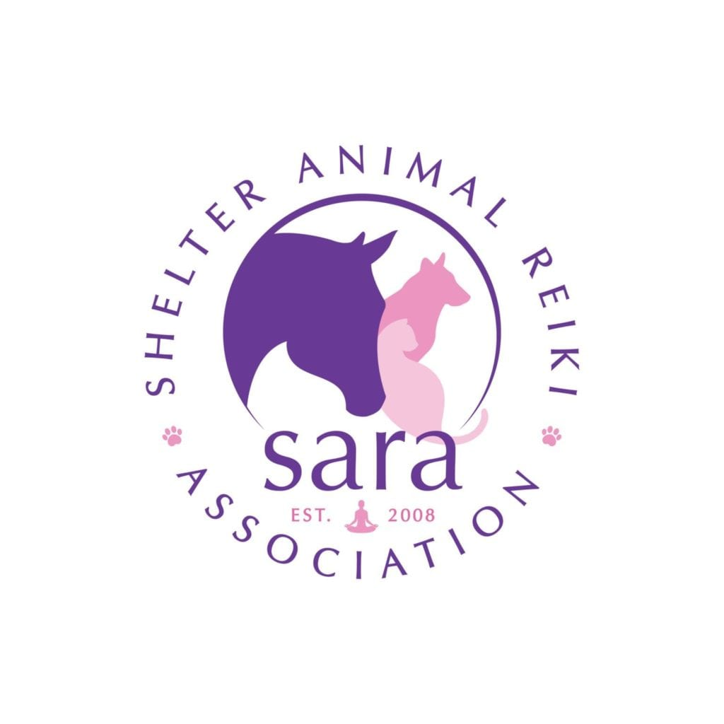 SARA logo with horse dog and cat, established 2008